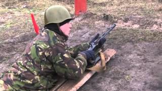 New Ukrainian National Guard recruits in training