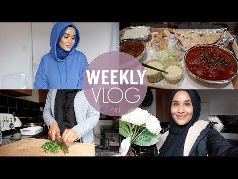 Weekly Vlog: SNOW STORM, LOTS OF COOKING& HOME BARGAINS HAUL!| Zeinah Nur
