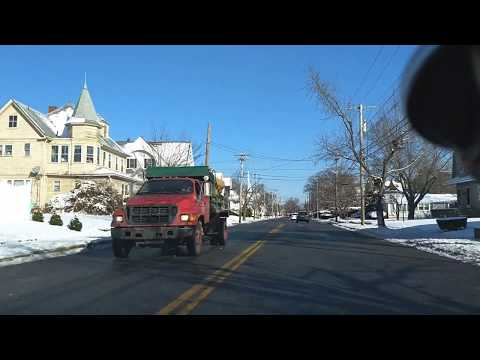 Snow day travel in Warwick and Cranston 4K