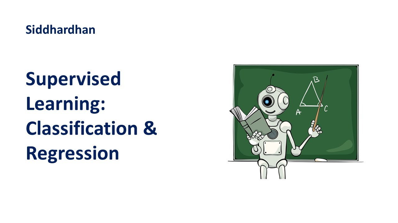 Supervised Learning   Types of Supervised Learning   Machine Learning Tutorial