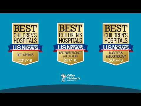 Valley Children's Ranked One of the Best by U.S. News & World Report