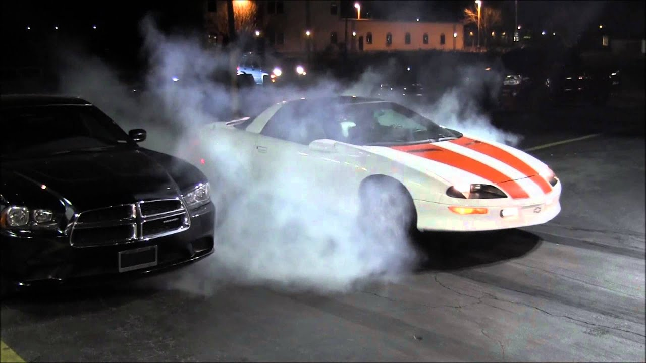 1997 30th Anniversary Camaro LT1 Z28 Burnout  YouTube