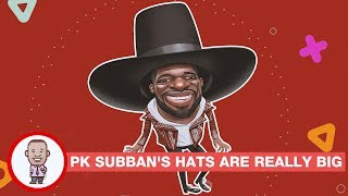 P K  SUBBAN'S HATS ARE REALLY BIG - CABBIE PRESENTS