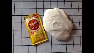 [DIY] Cách làm slime từ dầu xã Sunsilk - làm slime không cần hồ, keo sữa, borax đơn giản /Kiko Sweet