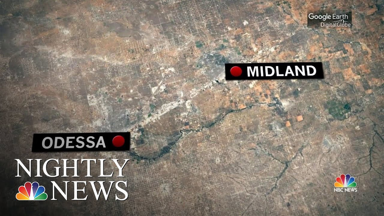 Midland Texas News >> At Least 1 Person Dead 20 Injured In Shootings In Odessa And Midland Texas Nbc Nightly News
