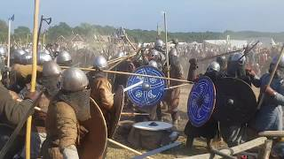 Wolin 2018 - Viking and Slavic festival - battle