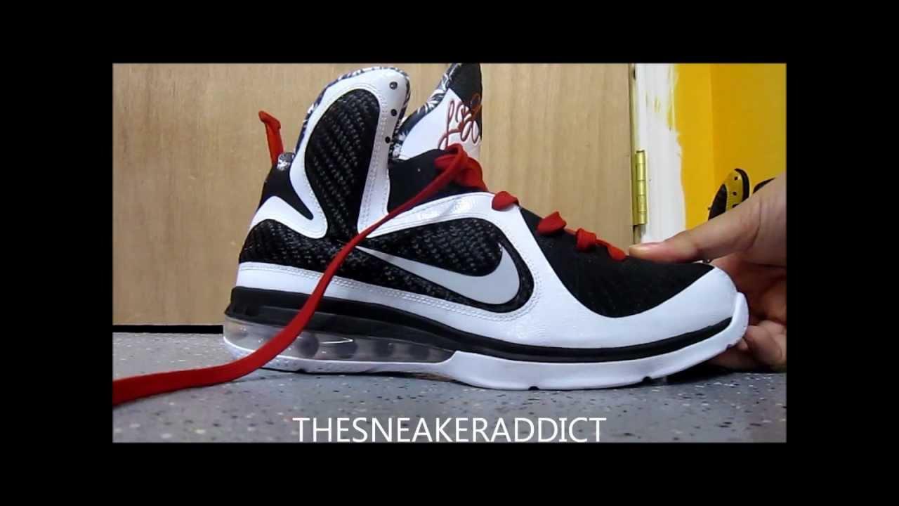the best attitude 852b4 163c5 Nike Lebron Griffey x Freegum X Bruce Lee 9 Sneaker Lace Swap + Rant