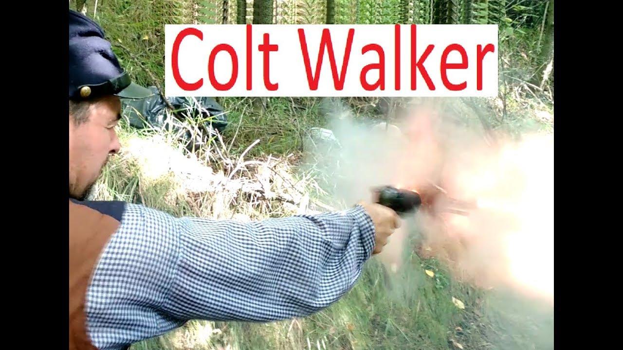 COLT WALKER  44 Revolver - LARGEST & most POWERFUL black powder repeating  handgun ever made