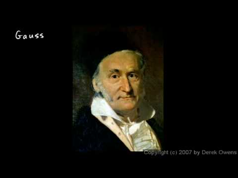 Algebra 2  4.4h - Complex Numbers, Part 8 - Carl Friedrich Gauss