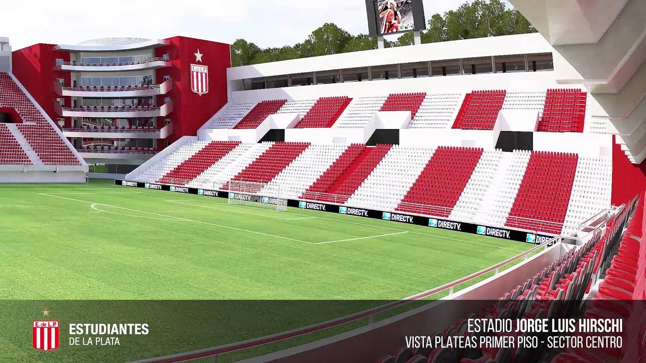 Video exclusivo estadio de estudiantes plateas primer piso for Piso estudiantes la laguna
