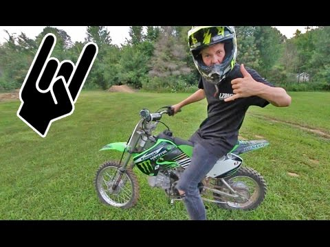 LEARNING TO RIDE A DIRT BIKE