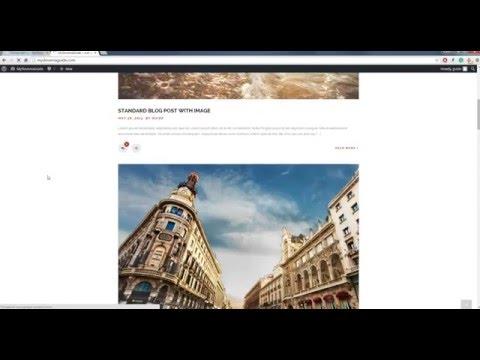altair -  tutorial tema wordpress untuk web travel