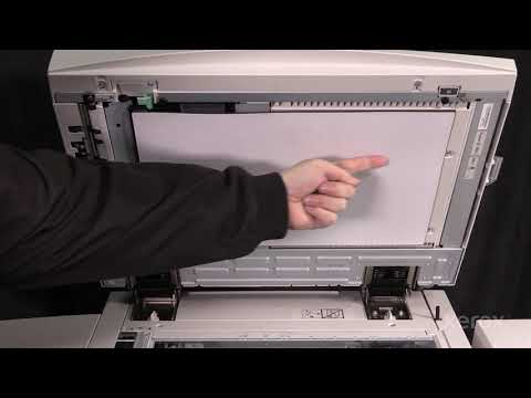 Xerox® Color 550 560 570® Cleaning the Platen Cushion