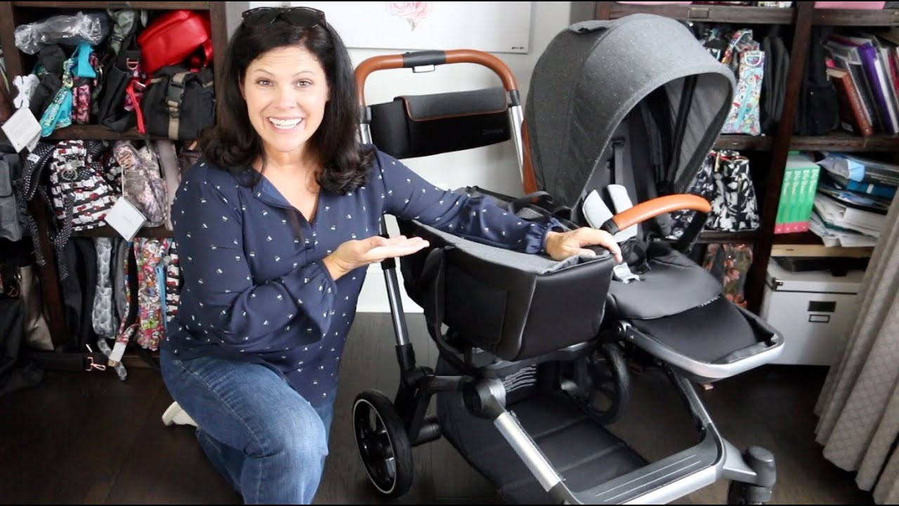CONTOURS ELEMENT Single to Double Stroller Review - YouTube