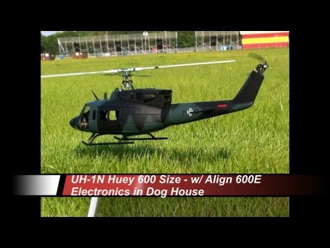 WooKong-h & HeliArtist Military UH-1 500 Scale Fuselage With