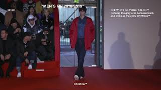 Off-White | Fall Winter 2018/2019 Full Fashion Show | Menswear