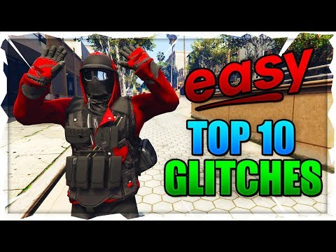 GTA 5 Online: *SOLO* BEST ''TOP 10 WORKING GLITCHES'' After Patch 1.46! (GTA 5 Top 10 Glitches)