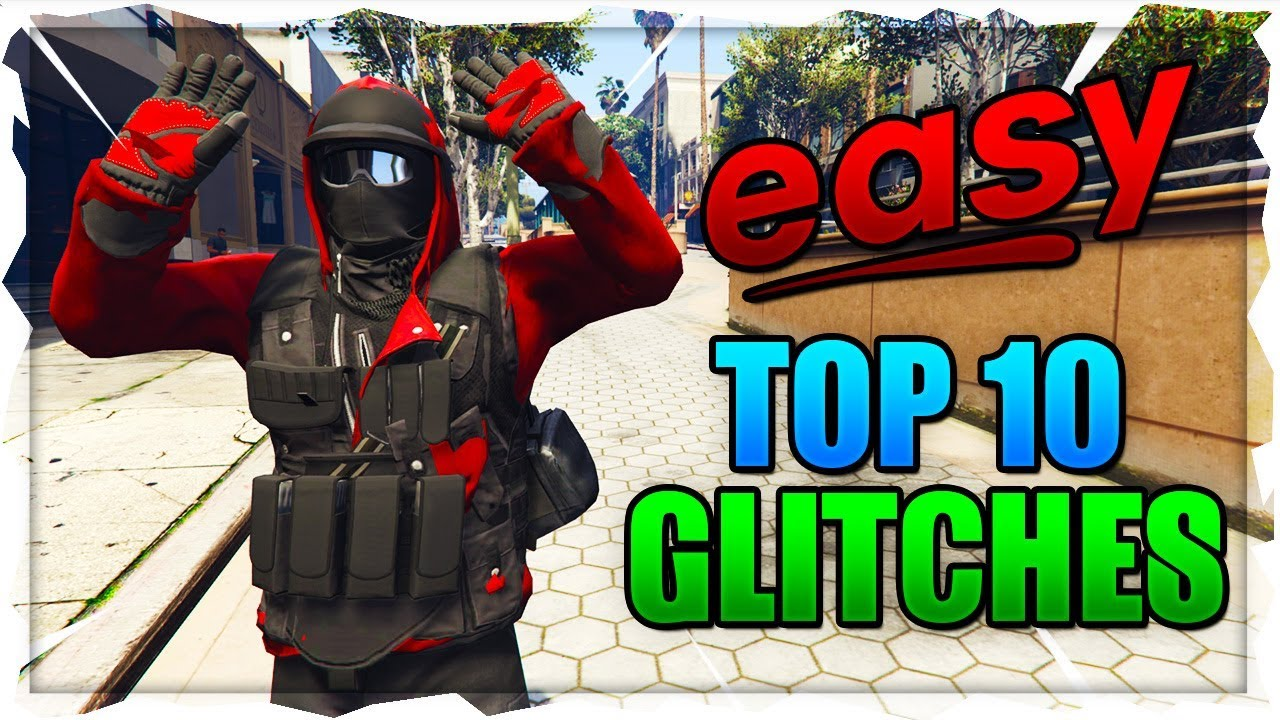 GTA 5 Online: *SOLO* BEST ''TOP 10 WORKING GLITCHES'' After Patch 1 46!  (GTA 5 Top 10 Glitches)