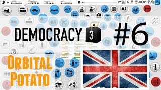 Democracy 3 - All DLC - Part 6 - UK - Flat Lining!