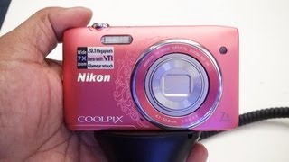 Nikon Coolpix S3500 Review Hands on full HD