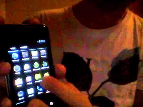 CyanogenMod 9 (ICS) on LG Optimus Chic (E720)