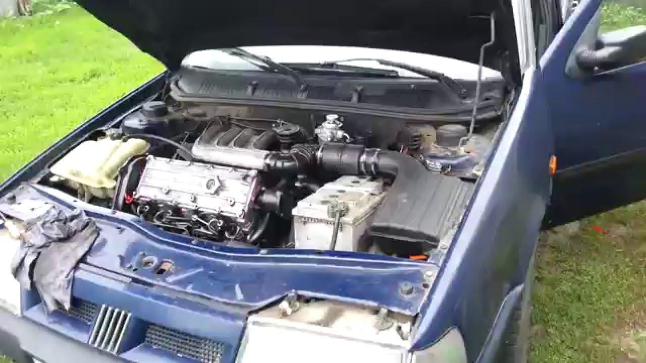 Заводим Fiat Tempra 1994г.в. 1.9D, пробег 343680км.