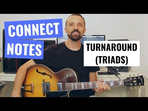 Guitar Tip #4 - Turnaround - Common Tones (Triads)