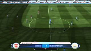 FIFA 13 | PC DEMO | Arsenal vs Manchester City | Gameplay w/ Commentary | HD