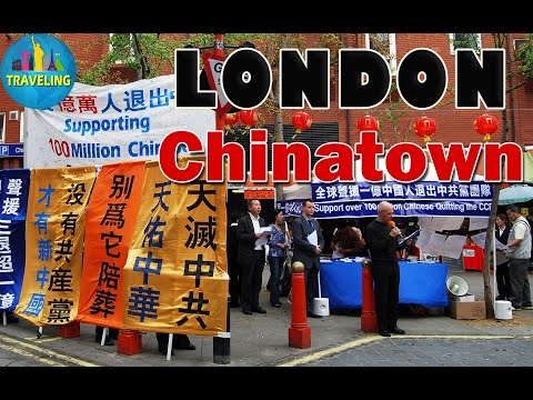 London's Chinatown Great Travel Guide in London,England,UK Tourist Attraction