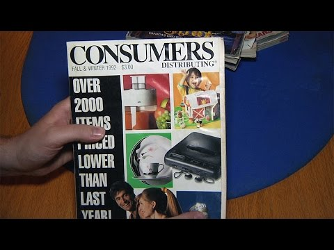 Old Catalog - Consumers Distributing 1992