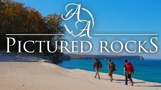 Pictured Rocks in 4K | Fall Camping, Hiking, and Bushcraft Backpacking in the Upper Peninsula