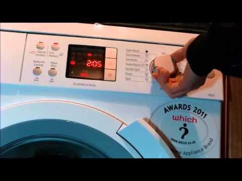 How To: activate and de-activate child lock on your bosch logixx washing machine
