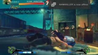 Super Street Fighter 4 - Gameplay Video 1
