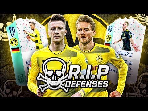 FUT Birthday REUS & FUT Birthday SCHURRLE DEADLIEST ATTACK - RIP DEFENSES FIFA 18 ULTIMATE TEAM