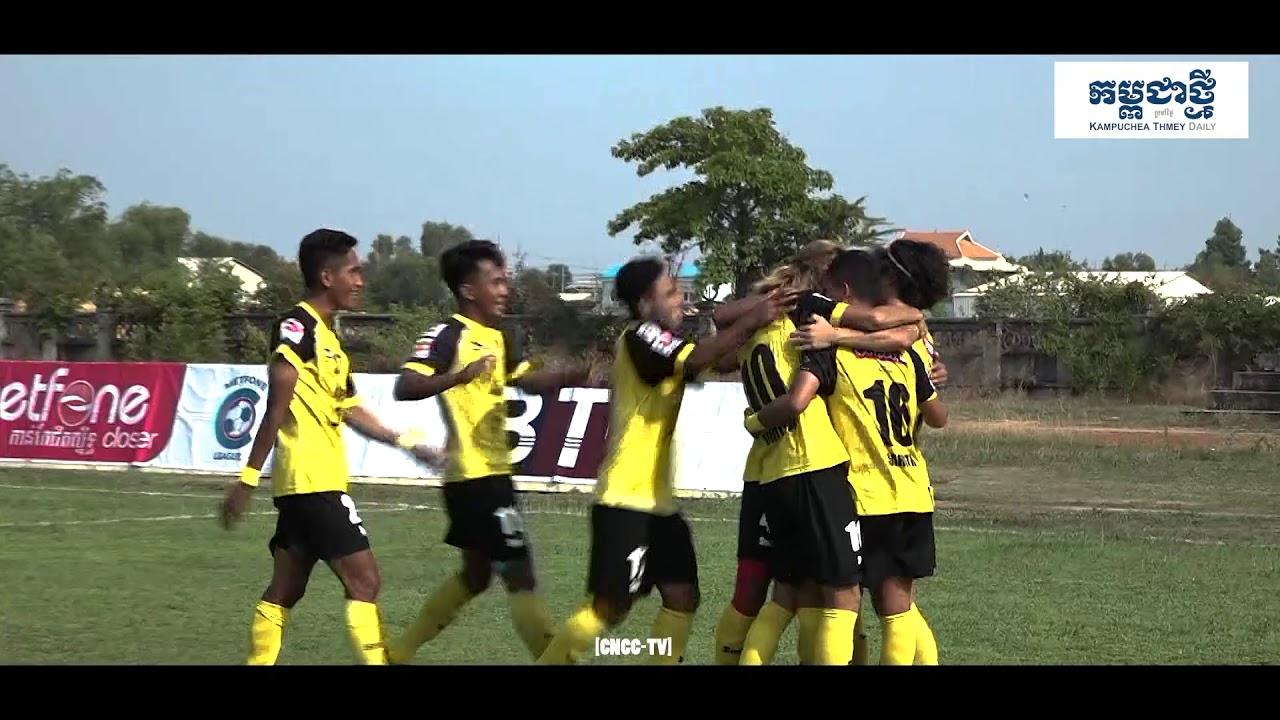 [MCL- Week8] Soltilo FC (1:0) Phnom Penh Crown FC