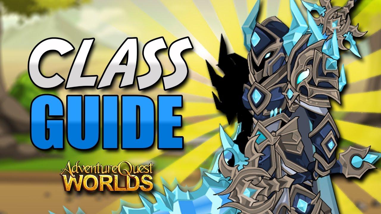 Glacial Berserker Class GUIDE (Enhancements) AQW AdventureQuest Worlds