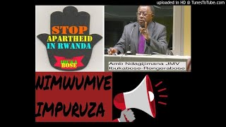 Impuruza yo guhagarika ivanguramoko mu Rwanda-Amb NDAGIJIMANA JMV arasobanura impamvu
