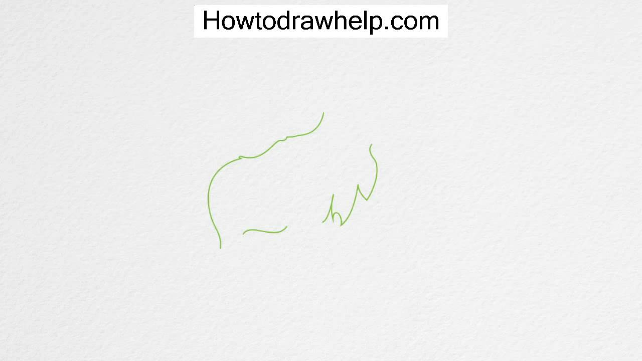 How to draw a moose step by step for kids youtube thecheapjerseys Images