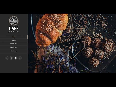 Create a Website   Restaurant and Cafe   WordPress Avada Theme FREE