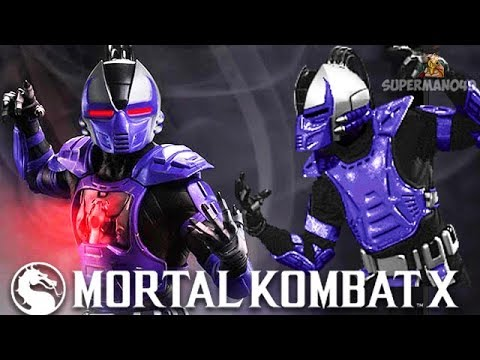 SMOKES VORTEX OF DEATH!  Mortal Kombat X: Smoke Gameplay