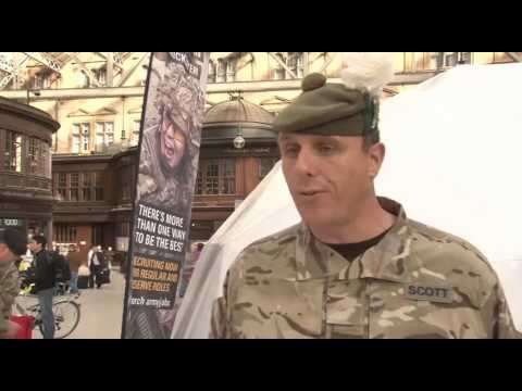 Recruiting in Scotland Army Style 02.10.14