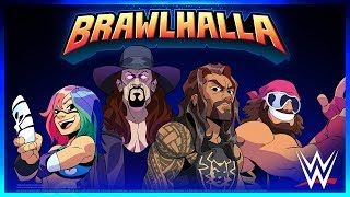 Brawlhalla x WWE Wave 2 Trailer - A New Roster of WWE Superstars