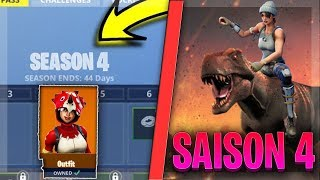 THETHEME OF SAISON 4 AND PAS OF COMBAT THEORIE - Fortnite