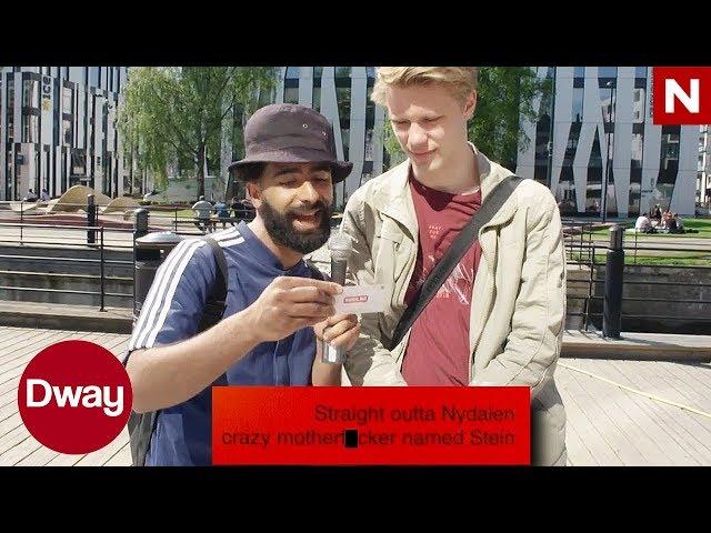 Dway | Arman og Multiguru leser kleine russekort | TVNorge