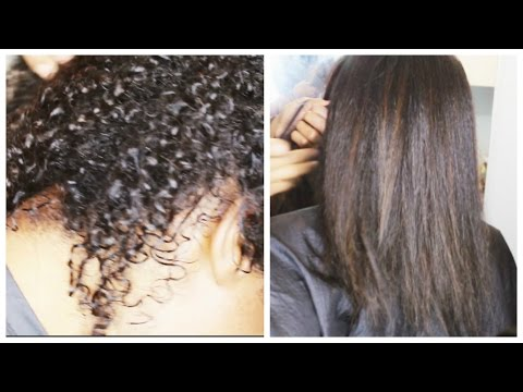 Black Natural Hair Secrets: How To Grow, Heat Straighten & Retain Length - African American Hair
