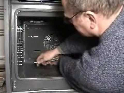 How To Replace Bosch Fan Oven Element Youtube
