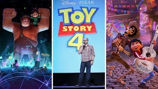 D23 Expo 2017 | Pixar and Walt Disney Animation Studios: The Upcoming Films
