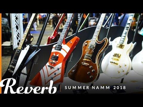 Epiphone's John Lee Hooker Zephyr & Lee Malia RD Custom Artisan   Reverb at Summer NAMM 2018