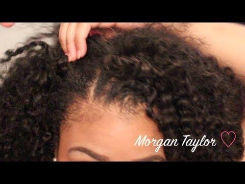 how i blend my natural hair w my kinky curly youtube