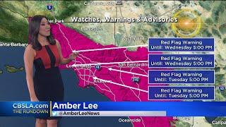 CBSLA Afternoon Weather Brief (November 12)